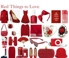 Yes more red to love