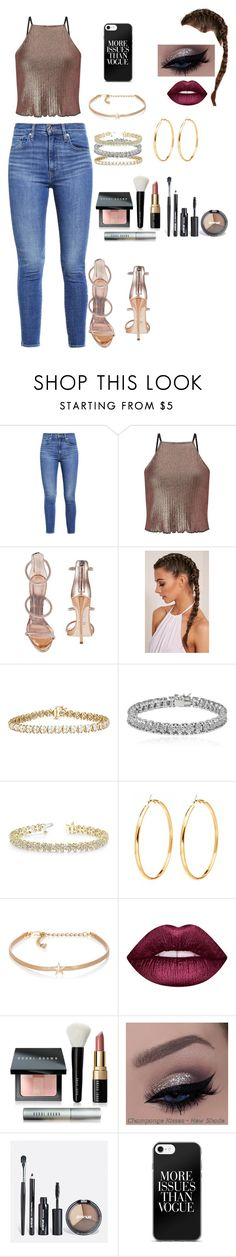 """Untitled #218"" by eloismbemba ❤ liked on Polyvore featuring Levi's, Miss Selfridge, Giuseppe Zanotti, Apples & Figs, Allurez, Kenneth Jay Lane, Lime Crime, Bobbi Brown Cosmetics and Avenue"