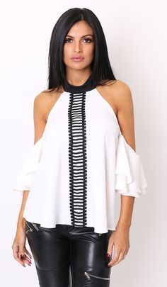 Lola Loves ...Lulu Frill Top
