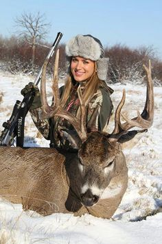 Eva Shockey... This pin speaks bigger words than most seasoned hunters. My daughter now has bigger dreams than I do! :-)