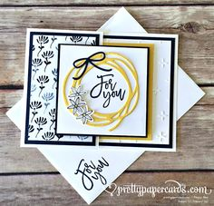 Pretty card with a fancy opening! Find out more at prettypapercards.com…