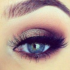 Image via We Heart It https://weheartit.com/entry/156764268 #beautiful #beauty #blue #eye #girly #makeup #pretty