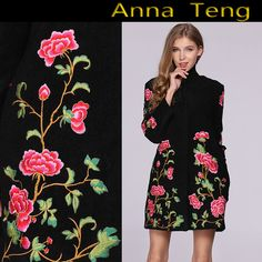 Find More Wool & Blends Information about DHL Free Shipping! Luxury High Quality Winter Coat Women Embroidered Wool Coat Overcoats ,High Quality designer coats men,China designer men coat Suppliers, Cheap design coat from ShenZhen Runway Fashion Life International Trade Co., Ltd on Aliexpress.com