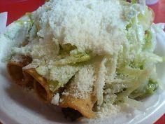 CHICKEN FLAUTAS~ Tacos San Pedro~ Hawaiian Gardens