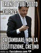 Grazie di tutto Italy is not for sale, ricordarlo.