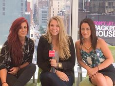 Teen Mom 2 stars Chelsea Houska, Kail Lowry, and Jenelle Evans head to NYC to promote season 6. Photos. Jenelle complains about Chelsea and Kail on Twitter.