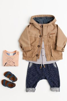 Spring 2014 Zara Baby Boy. I know it's buy but it's so cute! Throw in a vintage bow and girlier shoes ;)