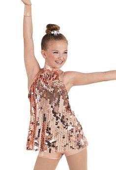 Weissman™ | Metallic Paillette Tunic Dress