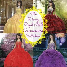 Disney quinceanera dresses