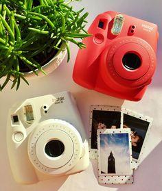 Beautiful colors of Fujifilm Instax Mini 8 ❤☁️