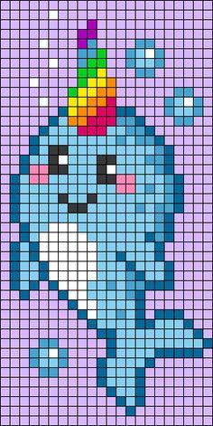 Easy Perler Bead Patterns, Melty Bead Patterns, Perler Bead Templates, Perler Bead Art, Perler Beads, Beading Patterns, Piskel Art, Pix Art, Simple Pixel Art
