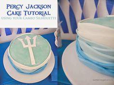 Our KERRazy Adventure: Percy Jackson Cake Tutorial