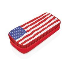Pojemnik śniadaniowy Lunch Bag, Iris , flaga USA