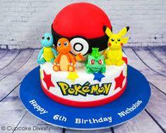 Image result for pokemon birthday cake