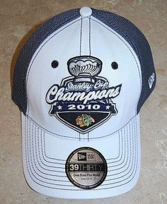 best authentic a1b98 23899 NEW Chicago Blackhawks 2010 Stanley Cup Champions Locker Room Hat One Size   NewEra  ChicagoBlackhawks