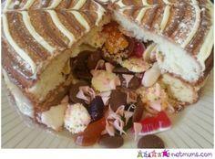 Pinata cake  #recipes #pudding