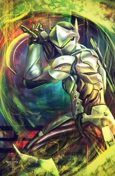 Overwatch - Genji by AIM-art.deviantart.com on @DeviantArt
