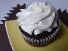 Vegan Chocolate Cupcakes with Vanilla Bean Frosting recipe from Food52