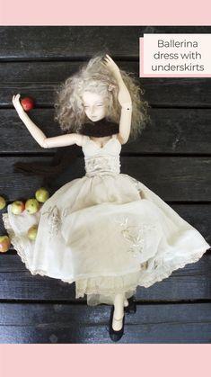 Yalki Palki Bespoke clothing for Ball Jointed Dolls Open for commissions Bespoke Clothing, Ballerina Dress, Ball Jointed Dolls, Flower Girl Dresses, Wedding Dresses, Clothes, Fashion, Tall Clothing, Moda
