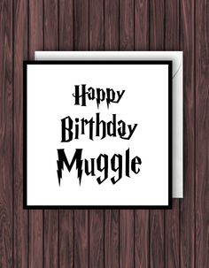 Harry potter birthday card diy movies and tv shows Pinterest