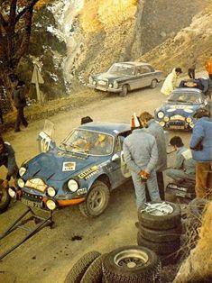 Monte Carlo Rally 1972. Alpine A110