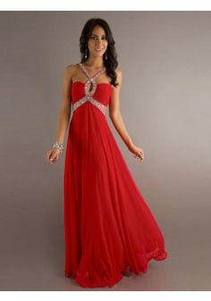 A-line Straps Chiffon Red Long Prom Dresses/Evening Dress With Beading #VJ948 - See more at: http://www.victoriasdress.com/prom-dresses/red-prom-dresses.html?p=5#sthash.91N8pcQt.dpuf