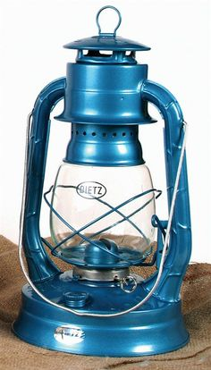 "Dietz Air Pilot Oil Lantern  $15.95  One of our most popular Dietz lanterns. First produced in the 1930s, the Air Pilot has been loved by our Amish customers for years. The Easy-Lite burner design makes it a very practical light.  13-1/2""H  2-1/2 lb  Imported  Burns: 27 hrs  Tank: 31 oz.  Imported   Can be used to heat a small space"