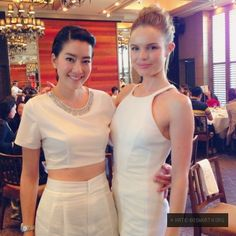 Kate Bosworth wearing the Camden Dress at the SK-II Luncheon in Japan