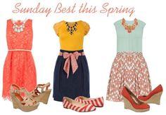 Sunday Best This Spring