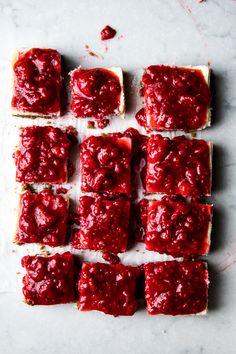 Flourishing Foodie: Raspberry Lemon Cheesecake Squares