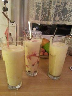 Weisse Wolke - mit Mango/Kirsche