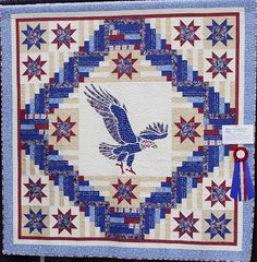 2012 Quilts of   Valor Challenge winner