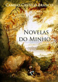 """Capa do livro """"Novelas do Minho"""" de Camilo Castelo Branco."""