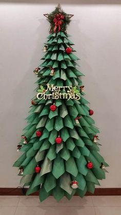 22 diseños del árbol de navidad creativo DIY