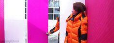 Running Man ep174 - Monday Couple [Ji-hyo scaring Gary gif]