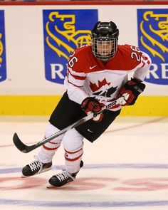 """Sarah Vaillancourt Originally from Quebec, the Canadian hockey champ decided to stop hiding her sexual orientation while still a freshman at Harvard University. """"If they weren't going to accept me on the team,"""" she told The Seattle Times, """"I wasn't going to stay."""""""