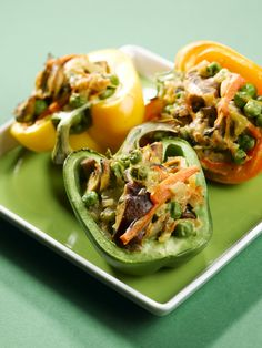 Täytetyt paprikat Tacos, Mexican, Ethnic Recipes, Food, Eten, Meals, Diet