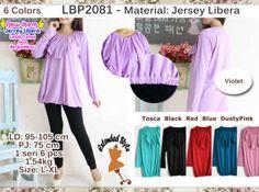 Blus Jersey Polos LBP2081