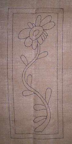Go Primitive - Primitive Rug Hooking Flower Patterns