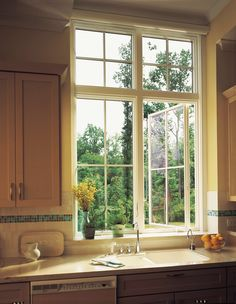 Window french windows and casement windows on pinterest for Andersen 400 series casement