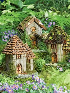 Fairy House - Fairy Garden | Gardener's Supply. Unusable unless you're a fairy.