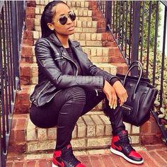 J'adore la mode B*tches - gotta love the Celine and the Jordans