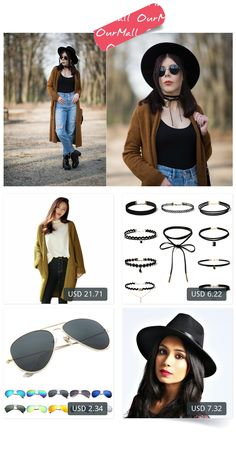 This is Lilly Marlenne's buyer show in OurMall; totally wearing four items below: 1.Autumn Winter Long Sleeve Sweater Women Loose Knitting Cardigan Lady Knitted Female Cardigan  2. Black Lace Leather Velet strip Choker Necklace Torques Multilayers Collar  3.Star Sunglasses Oculos ...If you'd like to buy above, please click the picture for detail. http://ourmall.com/?MZrANr