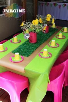 Best Images about Peppa Pig Birthday Party Third Birthday, 4th Birthday Parties, Baby Birthday, Peppa Pig Birthday Ideas, Fiestas Peppa Pig, Cumple Peppa Pig, George Pig Party, Garden Birthday, Party Decoration
