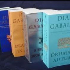 The outlander series, my favorite books!