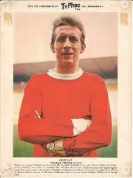 The LAW Man utterly brilliant footballer British Football, Manchester United Football, Denis Law, Typhoo, Bobby Charlton, Bristol Rovers, Premier League Champions, European Cup, International Football