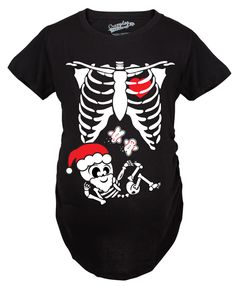 show off your belly bump with this cute baby x ray maternity shirt