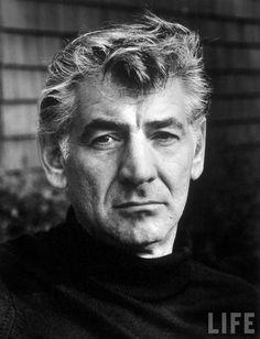 Leonard Bernstein, photographed for LIFE Magazine by Alfred Eisenstaedt