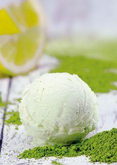 Matcha-Eis