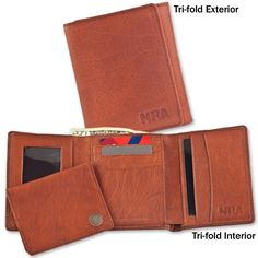 NRA 3-in-1 CCW Bison Billfolds Official Store of the National Rifle Association
